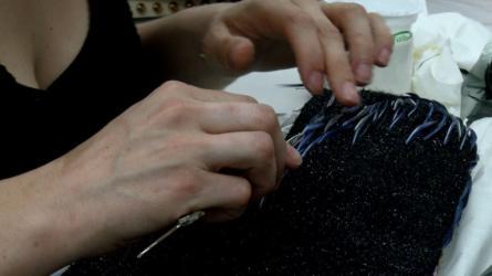 Plumassiere für die Haute Couture
