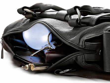 Handtasche mit Licht – schneller kramen